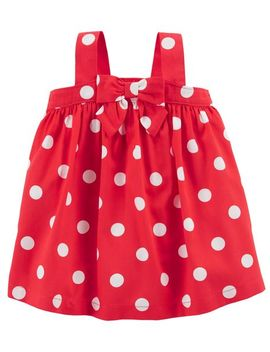 Polka Dot Bow Dress by Oshkosh