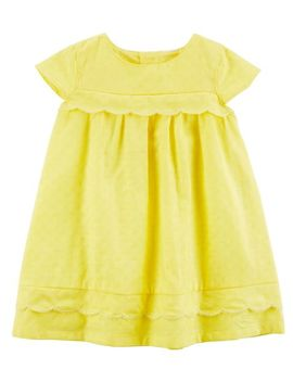 Scallop Dobby Dress by Oshkosh