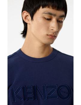 Jumper With Tone On Tone Kenzo Paris Logo by Kenzo