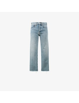 Originals Stove Pipe 27 Cropped High Waist Jeans by Re/Done