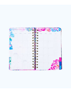 2019 12 Month Large Monthly Agenda by Lilly Pulitzer