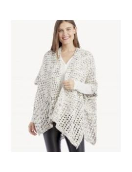 Marled Cocoon Wrap    by Sole Society