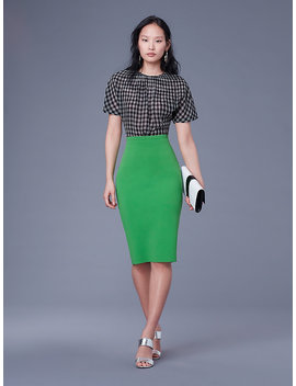 Knit Pencil Skirt&Nbsp; by Dvf