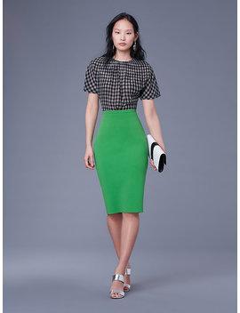 Knit Pencil Skirt&Nbsp; by Dvf
