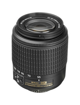Af S Dx Zoom Nikkor 55 200mm F/4 5.6 G Ed Lens by Nikon