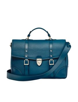 The Large City Mollie Satchel by Aspinal Of London