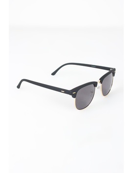 Semi Rimless Wayfarer Design Sunglasses by Urbanog