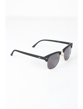 Semi Rimless Wayfarer Design Sunglasses by Urbanog