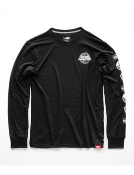 Men's Long Sleeve Global Bottle Source Tee by The North Face