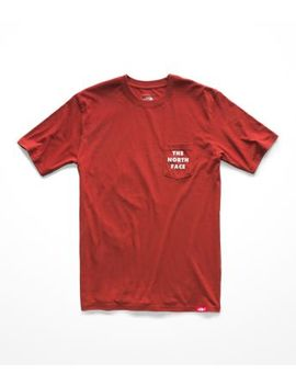 Men's Short Sleeve Bottle Source Pocket Tee by The North Face