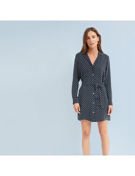 The Polka Dot Shirt Dress by Everlane