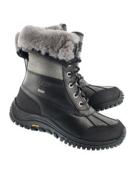 Women's Adirondack Ii Black/Grey Winter Boots by Ugg Australia