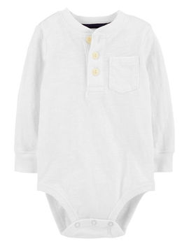 Henley Bodysuit by Oshkosh