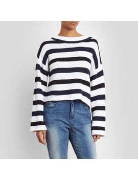 Wide Sleeve Stripe Sweater by Kenneth Cole New York