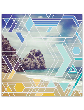 Beach Geometry by 9000things