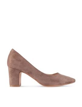 Minimalist Low Heels by Zalora