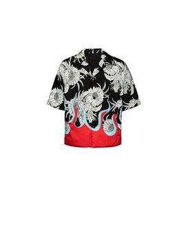 Short Sleeved Nylon Shirt by Prada