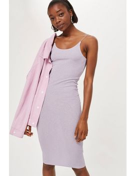 Ribbed Midi Bodycon Dress by Topshop