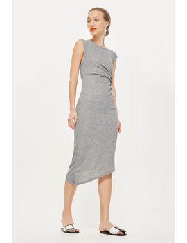 Drape Side Midi Shift Dress by Topshop