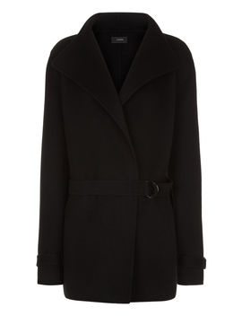 New Lima Short Double Cashmere Coat by Joseph