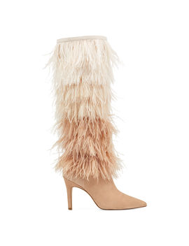 Questforu Boots With Feathers by Nine West