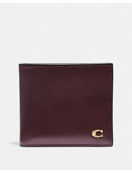 Double Billfold Wallet With Signature Hardware by Coach