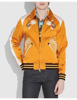 Coach X Keith Haring Skater Souvenir Varsity Jacket by Coach