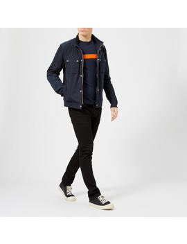 Barbour International Men's Stannington Casual Jacket   Navy by Barbour