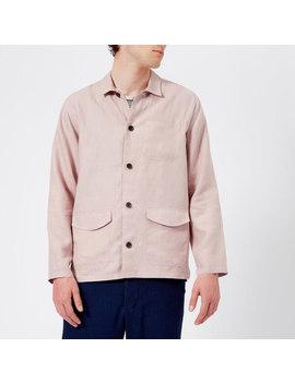 Oliver Spencer Men's Hockney Jacket   Linton Pink by Oliver Spencer