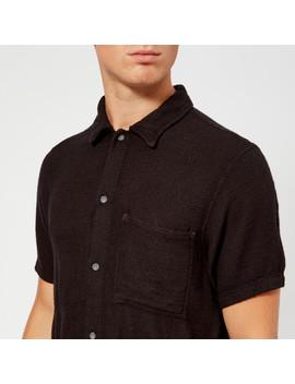 Nudie Jeans Men's Svante Worker Shirt   Black by Nudie Jeans