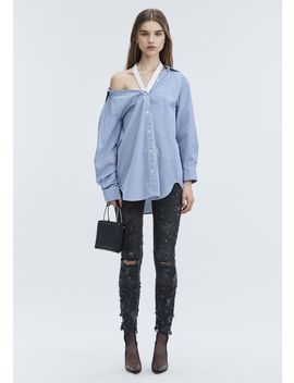 Whiplash Destroyed Jean by Alexander Wang