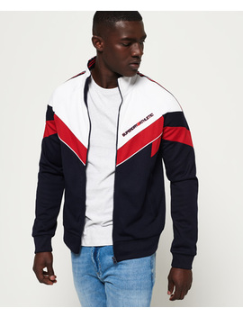 Sd Tricot Blocked Track Top by Superdry