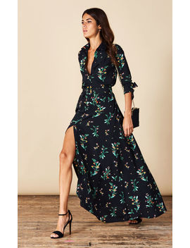 Dove Dress In Midnight Paradise by Dancing Leopard
