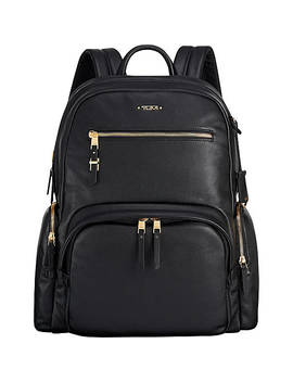 Voyageur Carson Leather Backpack by Tumi