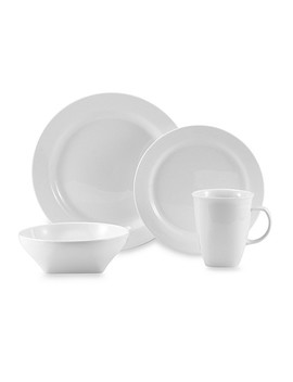 Oneida® Chef's Table™ White Porcelain Dinnerware And Serveware Collection by Bed Bath & Beyond