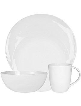 Everyday White®  By Fitz And Floyd® Organic Shaped Dinnerware Collection by Bed Bath & Beyond