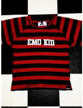 Emo Kid Baby Tee by O Mighty