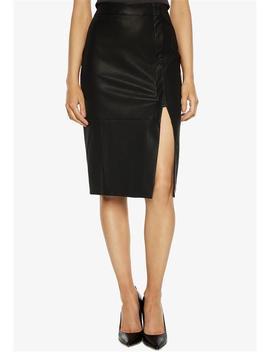 Dee Wrap Midi Skirt by Bardot