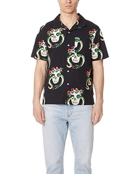 Skull Pattern Shirt by Stussy