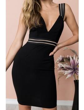 Alia Dress   Black by Dolly Girl Fashion