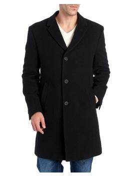 Burbank Wool & Cashmere Blend Overcoat Burbank Wool & Cashmere Blend Overcoat by Tommy Hilfiger Tommy Hilfiger