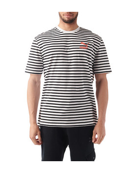 Summer Brenton Stripe Ss Tee by Puma