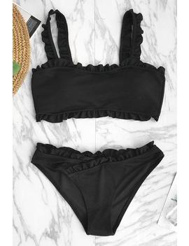 Only Love Solid Bikini Set by Cupshe