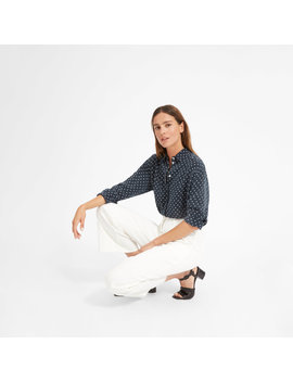 The Polka Dot Oversized Shirt by Everlane