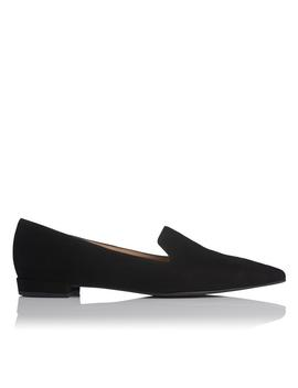 Arie Black Suede Flats by L.K.Bennett