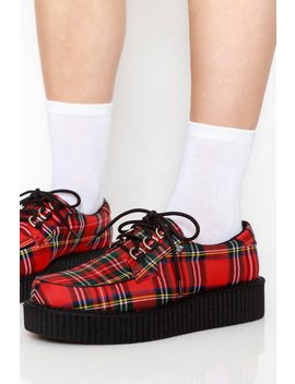 Plaid Anarchic Creepers by Goodbye Bread