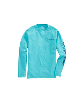 Long Sleeve Heathered Performance T Shirt by Vineyard Vines
