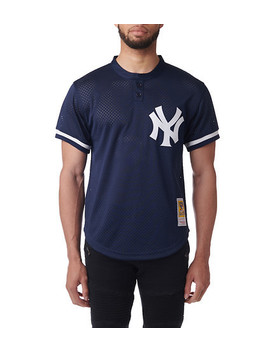 Ny Yankees Mariano Rivera Bp Jersey by Mitchell And Ness