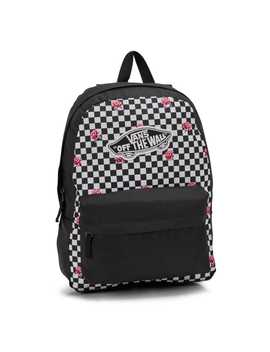 Unisex Realm Classic Rose Checkerboard Backpack by Vans