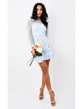 Ruffle Detailed Mini Dress by True Decadence